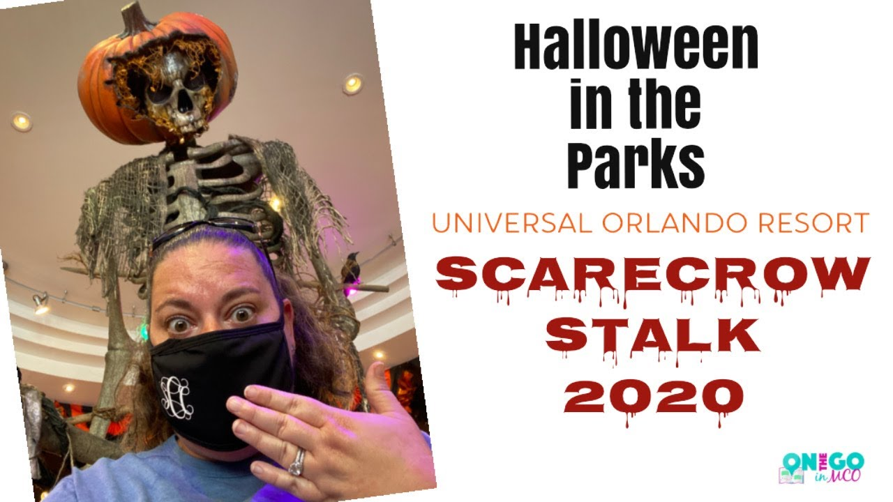 Universal Studios Florida Scarecrow Stalk - Halloween 2020