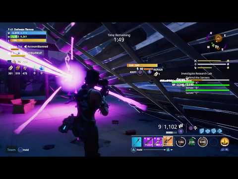 Fortnite - Research Lab Mission