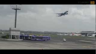 Missed Landing Boeing 777 British Airways at Mumbai Airport