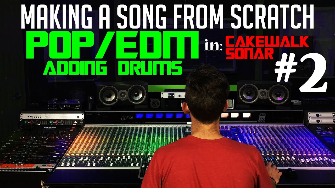 making a pop edm song from scratch 2 adding drums youtube. Black Bedroom Furniture Sets. Home Design Ideas