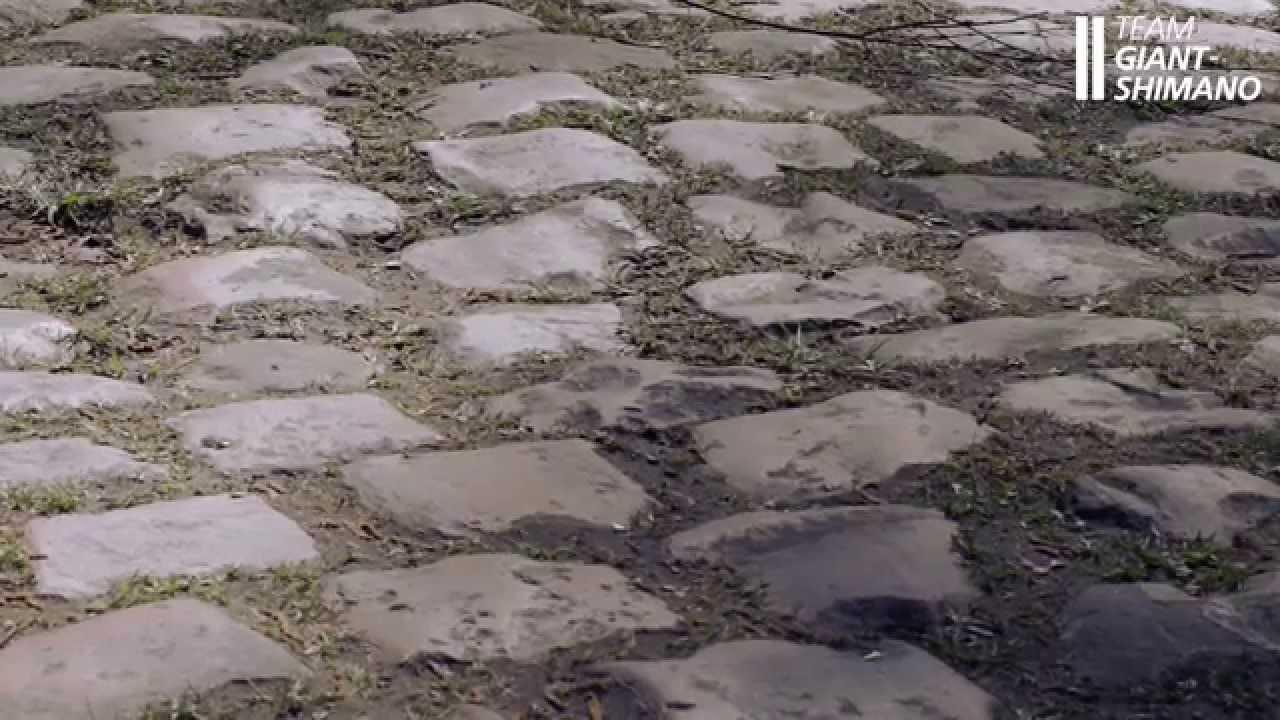 Team Giant-Shimano preparing the Giant Defy for Paris - Roubaix