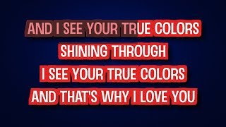Cyndi Lauper - True Colors (Karaoke Version) | TracksPlanet