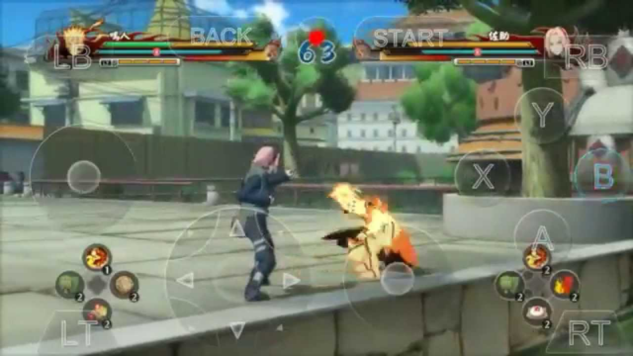 Download Naruto Ultimate Ninja Strom Revolution For Android