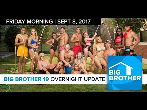 Big Brother 19 | Overnight Update Podcast | Sept 8, 2017