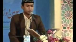 SALIM GHAZALI JUARA MTQ TAHFID ALQURAN INTER NASIONAL 2011 DI IRAN