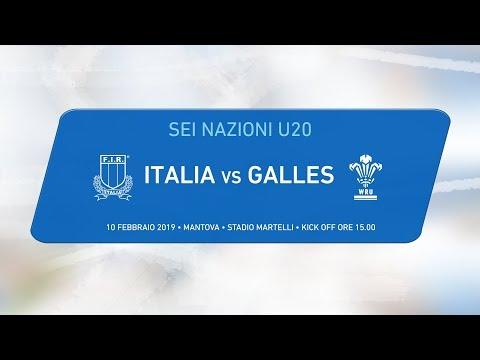 6 nazioni U20 – Italia v Galles