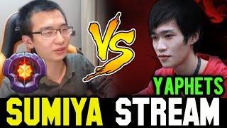 SUMIYA vs YAPHETS  Midlane Battle | Sumiya Invoker Stream Moment #286