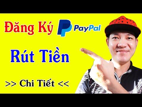 Hướng Dẫn Đăng Ký Tài Khoản PayPal / Rút Tiền Tik Tok, Cashzine..v.v.