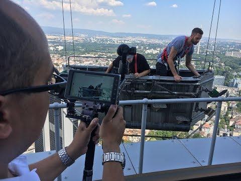 WoBo Rockt Mit Azubi Fabian Den Messeturm