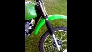 150cc enduro motorcycle running