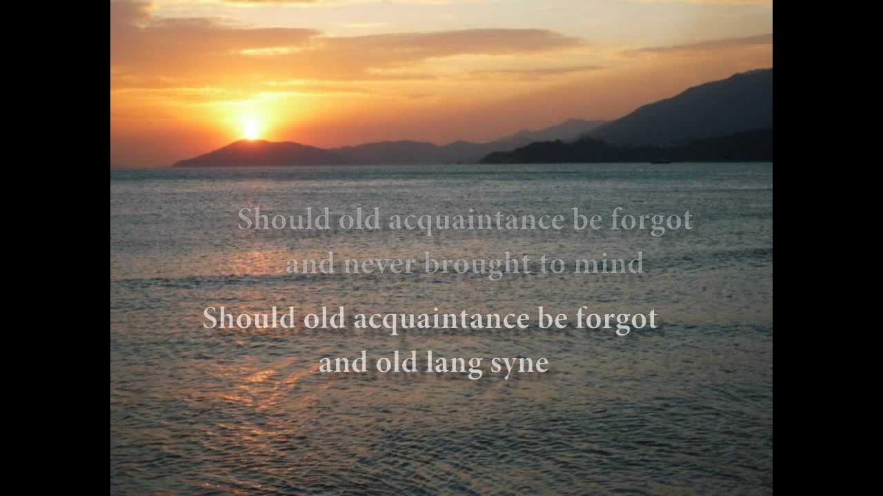 'Auld Lang Syne' Song Meaning and Lyrics for New Year's ...
