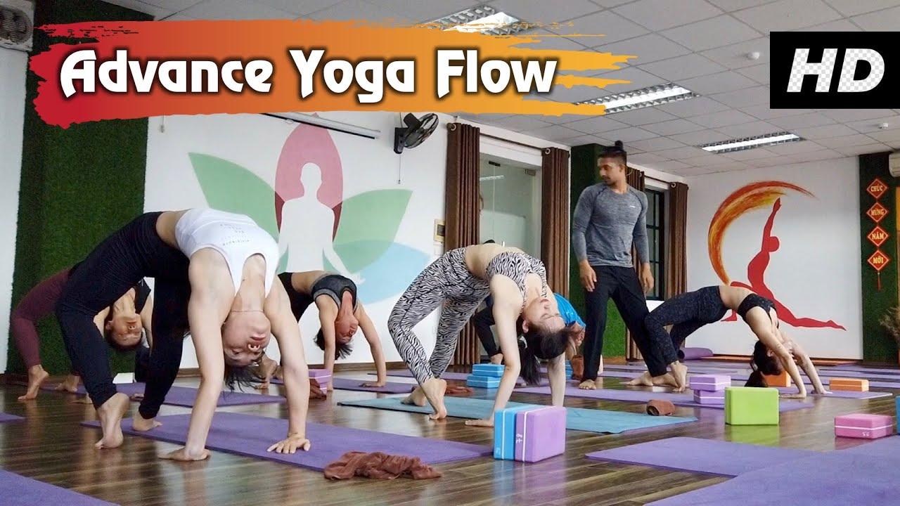 Advanced Yoga For Full Body Flexibility Backbend Hip Opening Twisting Yoga Class Yograja Youtube