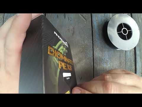 Восьмижильная леска Diominate PE X8 от AngryFish