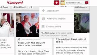 Pinterest Demo: Social Media Journalism