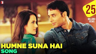 Video Humne Suna Hai - Full Song | Mere Yaar Ki Shaadi Hai | Uday Chopra | Sanjana download MP3, 3GP, MP4, WEBM, AVI, FLV Agustus 2018