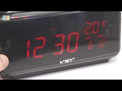 VST-806W - обзор электронных часов