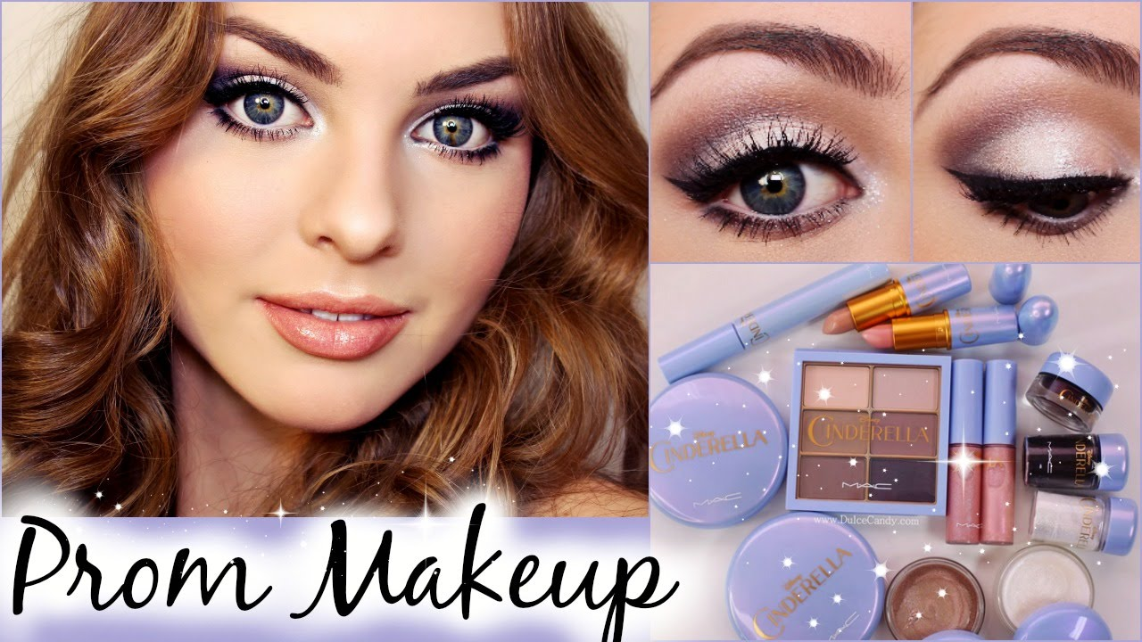 Prom Makeup Tutorial Using MAC Cinderella Collection! (& Dupes) - Jackie Wyers - YouTube