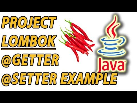 Project Lombok Getter and Setter Example (Part 2)