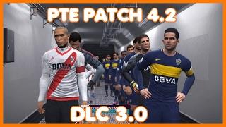 DESCARGAR E INSTALAR PTE PATCH 4.2 | DLC 3.0 | PES 2017 PC