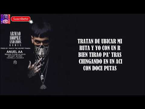 Anuel AA Ft  Ñengo Flow, Alexio La Bestia, Bryant Armao100pre andamos remix oficial 2019