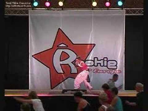 Step al Rookie 2005 con Daniela Ferrante