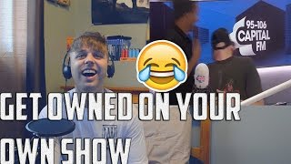 LEIGH ANNE STORMS OUT OF ROMAN'S INTERVIEW PRANK (REACTION)