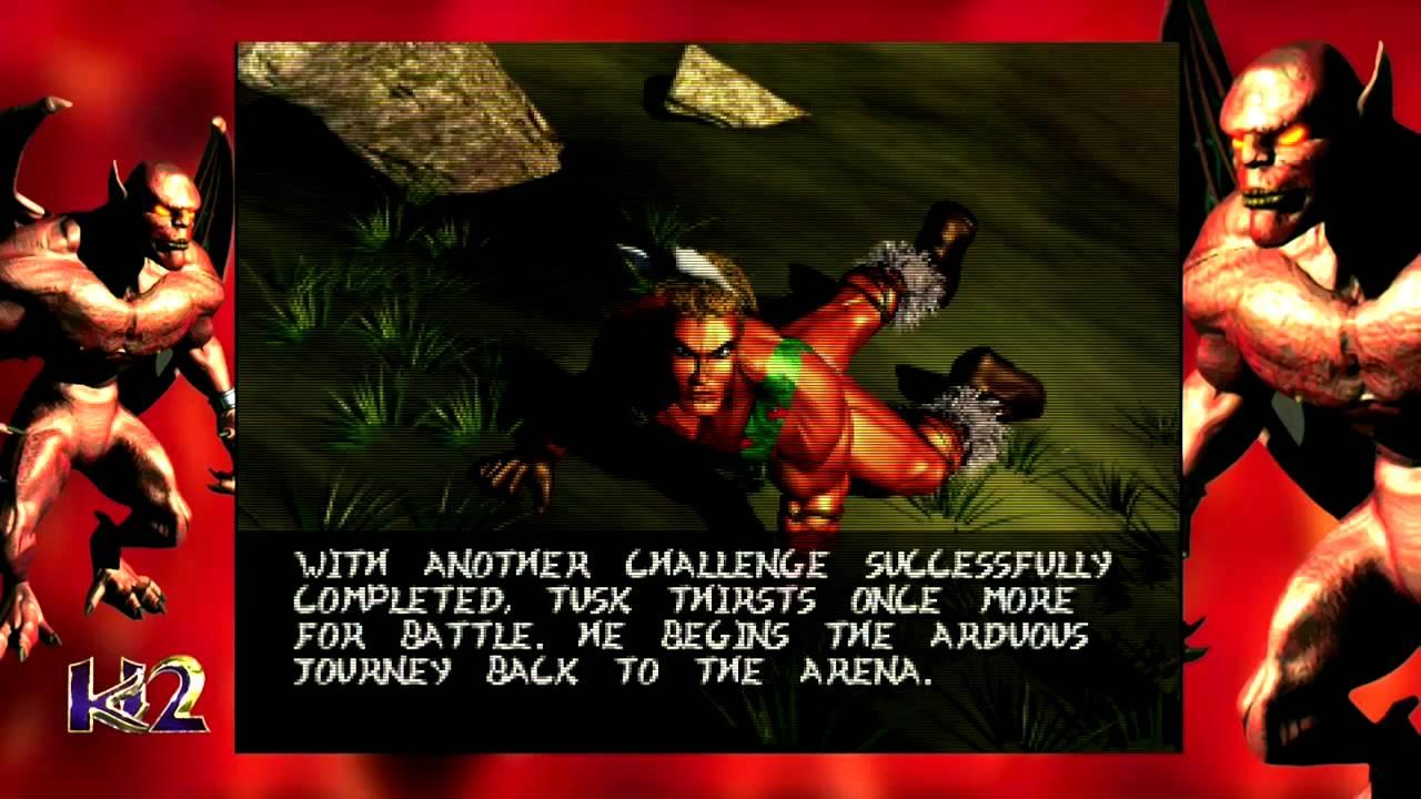 Killer Instinct 2 Classic - Tusk Ending (Xbox One) - YouTube