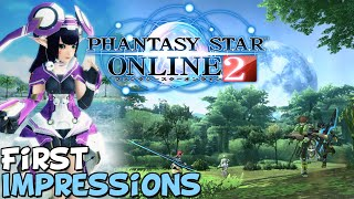"PSO2 2020 First Impressions ""Is It Worth Playing?"""