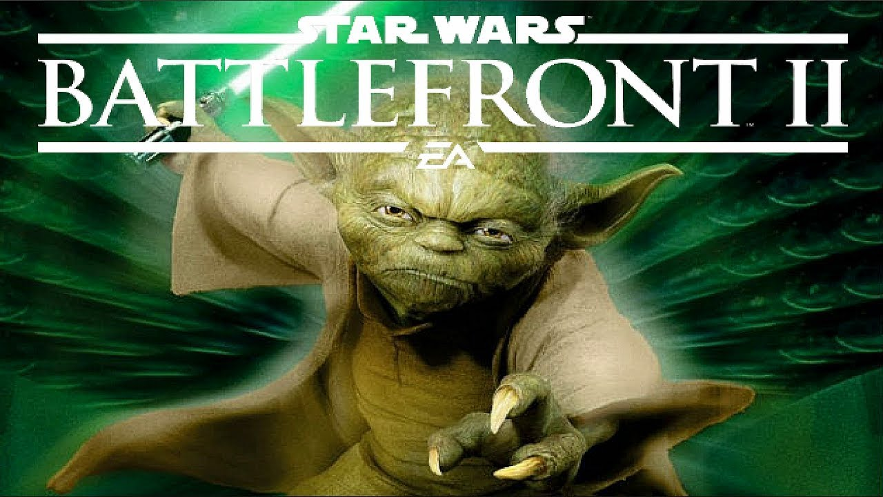 Star Wars BattleFront 2 | Heroes Vs Villains - Yoda has a stalker! ( FUNNY )