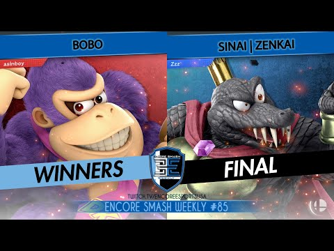 Encore Smash Weekly # 85  - Bobo Vs. Sinai | Zenkai - Winners Final