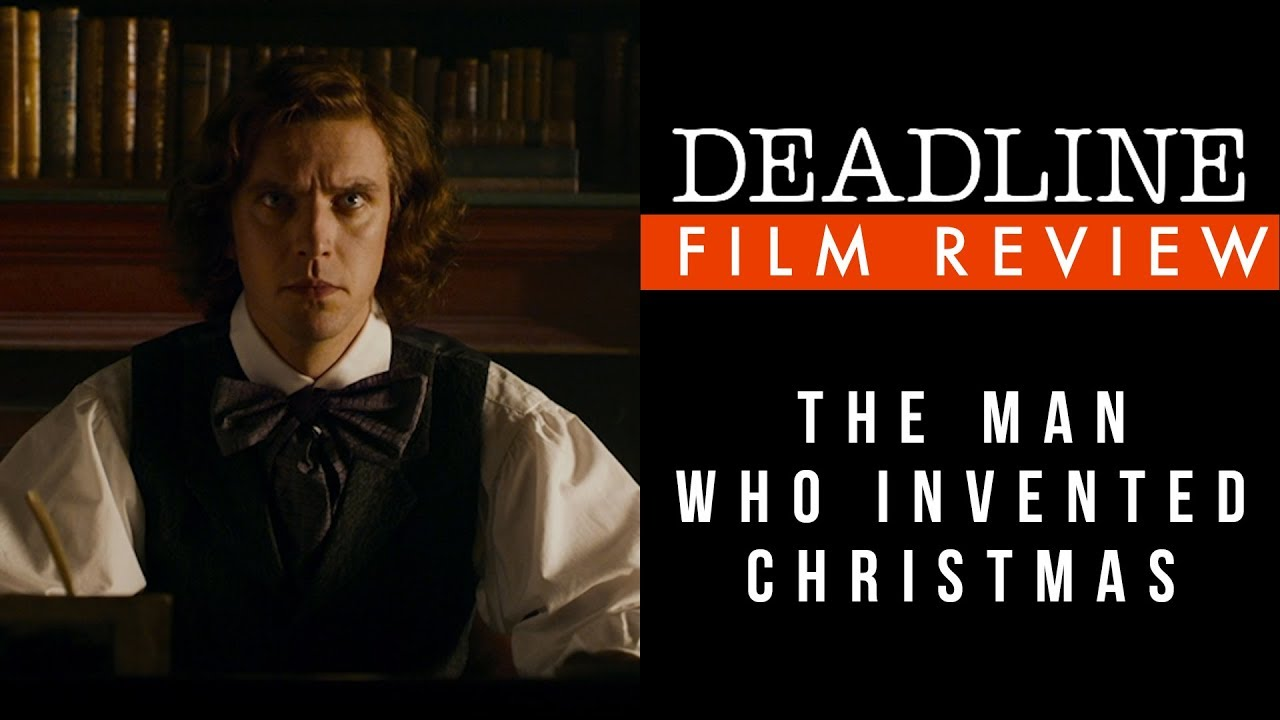 The Man Who Invented Christmas Poster.Watch The Man Who Invented Christmas Review Dan Stevens