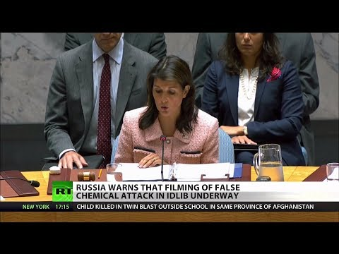 Russia: Staged Syria Chemical Attack Being Planned