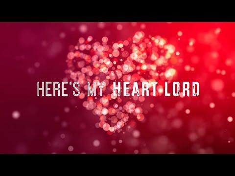 Here's My Heart Lord W/ Lyrics (Lauren Daigle)