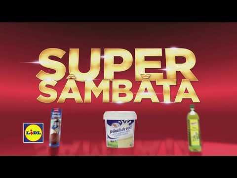 Super Sambata la Lidl • 12 Ianuarie 2019