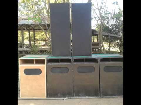 ตู้ลำโพงSUBเบสDevil18เครื่องเสียงกลางแจ้ง