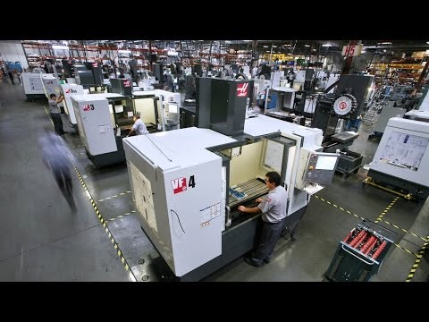 Haas Factory Tour