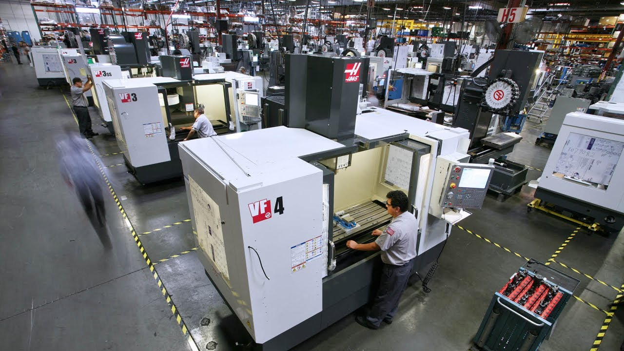 Haas Automation – Factory Tour   TripleTMachining