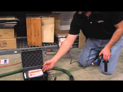 Using the Wagner Rapid RH 4.0 to Measure Moisture in Concrete