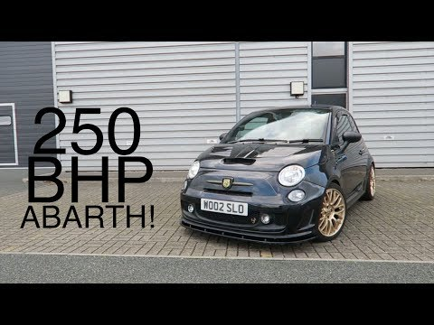 CRAZY 250 BHP ABARTH 500 REVIEW!!