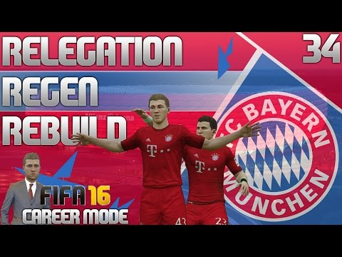 FIFA 16 Bayern Munich Career Mode - RRR - E34