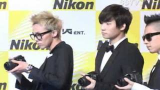 2011.03.08 YG family at Nikon event (4) - includes brief talk