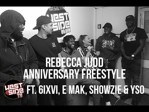 Rebecca Judd Anniversary Freestyle ft. 6IXVI, E.Mak, Showzie & ySo