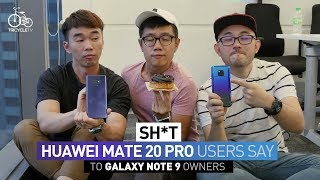 Sh*t Huawei Mate 20 Pro User Says to Samsung Note 9 Owner | TricycleTV thumbnail