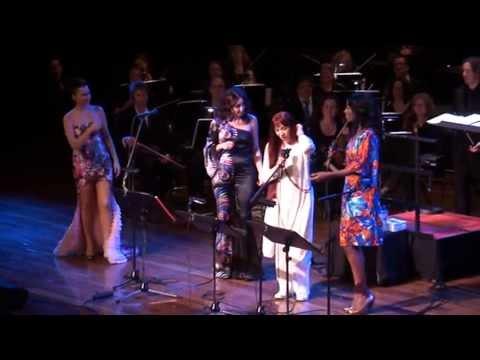 LEMAN, ŞEVVAL EN ŞEHNAZ SAM MET GIOVANCA LIVE TURKEY NOW! FESTIVAL 2012 AMSTERDAM