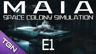 let s play maia planetary space colony simulator 1080p yt 13 episode 1