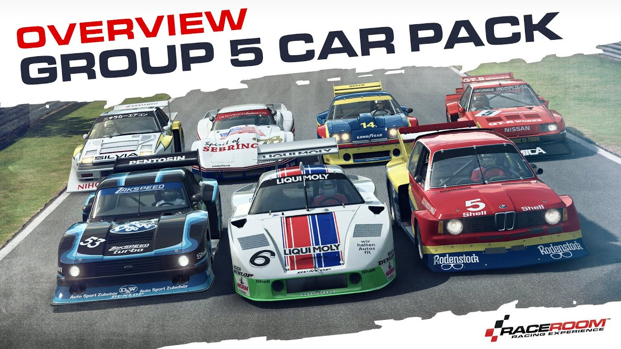 Raceroom Racing Experience Group Pack Overview Youtube