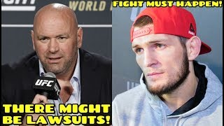 """Dana White to put on the BADDEST Card in UFC history, """"If people get sick, the UFC WILL GET SUED"""""""