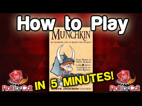 How to Play Munchkin | Roll For Crit