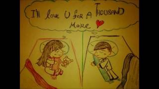 A thousand years - Christina Perri ( Picture Draw Lyric )