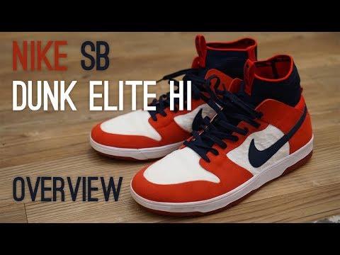 Nike SB Dunk Elite Hi Overview